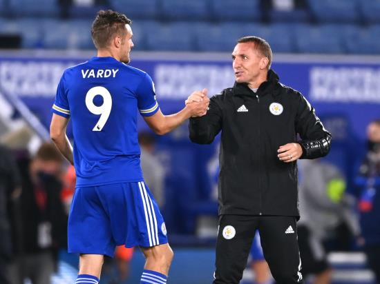 Brendan Rodgers urges Leicester not to get carried away 55goal