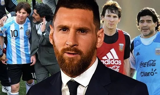 Lionel Messi delivers emotional Diego Maradona tribute statement after icons death 55goal